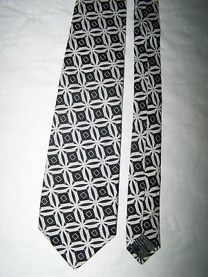 "Cravatta ""Gianni Versace"" 100% Silk Tie Made In Italy Vtg 90"