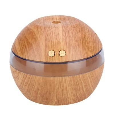 USB LED Ultrasonic Aroma Humidifier Essential Oil Diffuser Aromatherapy 300ml #