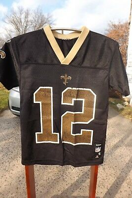 523cfb9ca New Orleans Saints Marques Colston  12 Authentic Reebok Jersey Youth  Kids  Large