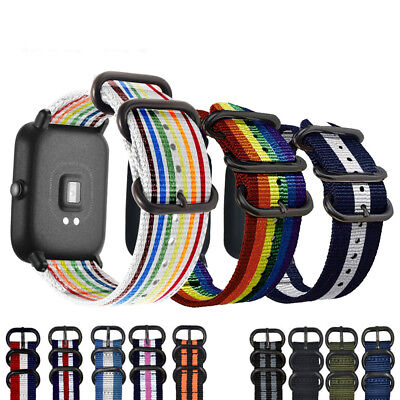 20mm Colorful Strap for Xiaomi Huami Amazfit Smart Watch Bip BIT PACE Lite Band