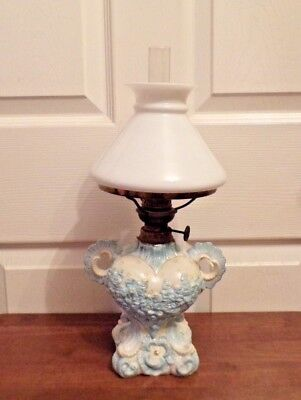 Antique German Boudoir oil lamp in the form of a woman's bust ?  working order