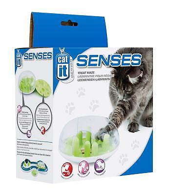 Catit Senses Treat Maze Encourages Your Cats Natural Hunting Abilities