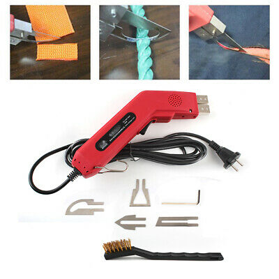EU/US Plug Electric Hand Held Hot Heating Knife Cutter Tool For Fabric Cutting