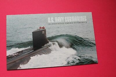 US Scott #BK279-US Navy Submarines Complete Booklet- $9.80 face issued 2000