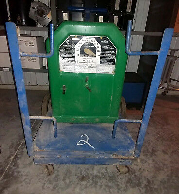 1 Used Lincoln Electric Ac-225-S Ac Arc Welder ***make Offer***