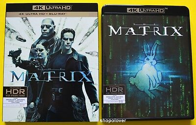 The Matrix (4K UHD/Blu-Ray, 2018) - NO DIGITAL CODE - Like New