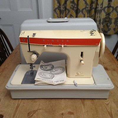 Vintage Singer Sewing Machine - Model 367 / with Case - No Pedal