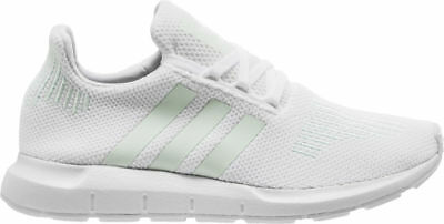 e50309ddfe885 Adidas Women s Swift Run NEW AUTHENTIC white Greone Ice mint CG4138 size 9.5