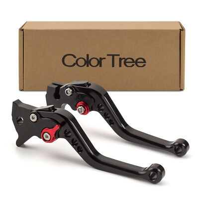 FXCNC Racing Aluminum Short Adjustable Brake Clutch Levers for Suzuki GSF600 BANDIT 1995-2004 GS500E 1994-1998 GSF 600S BANDIT 1996-2003 GS500 1989-2008 GS500F 2004-2009,GSF 250 Bandit All Years