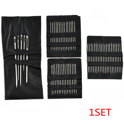 55PCS/Set Stainless Steel Sewing Needle Embroidery Mending Craft Tools