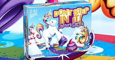 Hasbro Gaming Don/'t Step In It Unicorn Edition Board Game Hard To Find On Hand