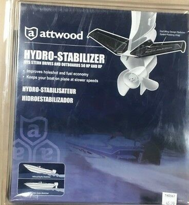 Attwood Hydro-Stabilizer Stern Outboards - 50Hp & Up 9400-7 New