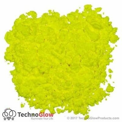 Fluorescent Powder, YELLOW - UV Reactive Powder / Pigment