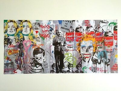 Mr. Brainwash Lmtd Release Authentic Lithograph Print Poster Love Is The Answer