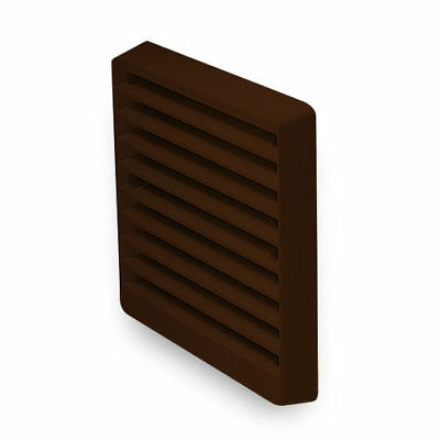 """Greenwood 150mm 6"""" External Wall Grille Grill Brown Exterior EG2B for ED3 ED150"""