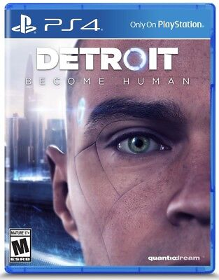 Detroit: Become Human (PS4) || BRAND NEW !! || SEALED||||LIMITED QUANTITY||