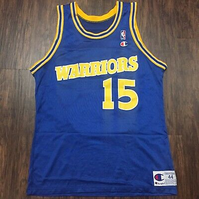 65e3969d5 ... vintage latrell sprewell golden state warriors champion jersey 44 curry  durant