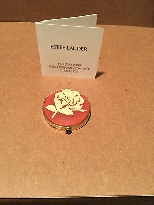 Estée Lauder Youth Dew Holiday 2009 Opulent Cameo Solid Perfume Compact