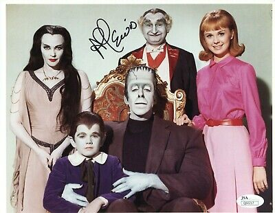 Al Lewis Signed 8X10 Jsa Coa Autograph Photo Grandpa The Munsters