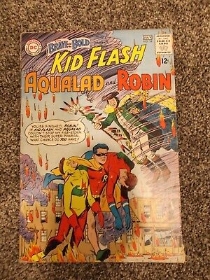 Brave and the Bold #54, DC Silver Age, 1st App of Teen Titans 1964