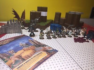 Heroscape The Battle Of All Time 2nd Edition ( Incomplete ) Board Game Lot