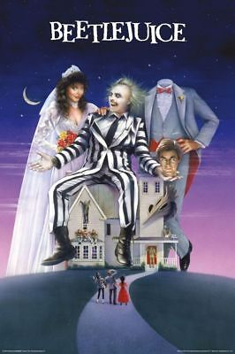 BEETLEJUICE HOUSE Art Silk Poster 8x12 24x36 24x43