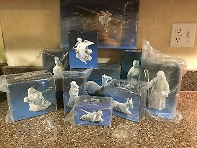 AVON NATIVITY COLLECTIBLES Lot of 10 - Porcelain 1982-85 BRAND NEW in Org. Boxes