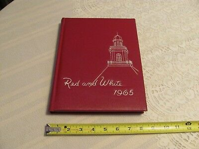 1965 Iowa City High School Yearbook City High Little Hawks Red & White Pictures