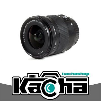 NEUF Canon EF-S 10-18mm f/4.5-5.6 IS STM Lens (Retail Box)