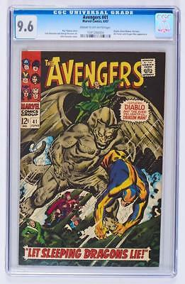 Avengers #41 CGC 9.6 NM Universal CGC - only 7 higher in CGC census!