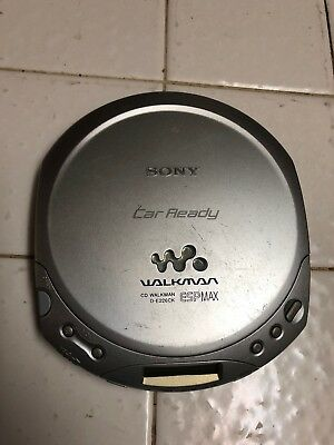 Sony D-E226CK Walkman Portable CD Player - Tested - Works - *FAST SHIPPING*