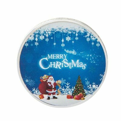 Merry Christmas Santa Claus Commemorative Coin New Year Gift Collection Ornament