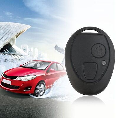 Replacement 2 Button Remote Key Fob Shell Case Fits for Rover 75 MG ZT UK IR
