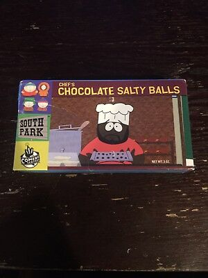 South Park Chefs Chocolate Balls Candybox Owned By Isaac Hayes From Estate Rare