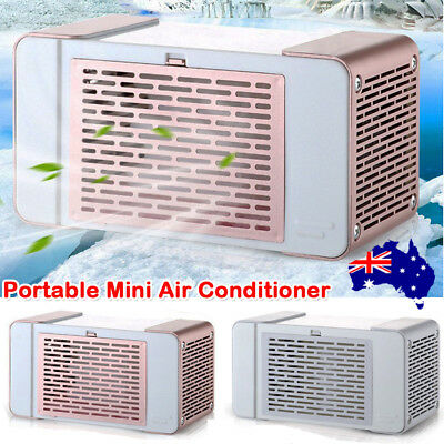 PORTABLE MINI AIR Conditioner Cooler Humidifier Cooling Fan