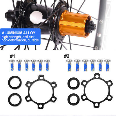 Front/Rear Hub Adapter 100*15 to 110*15 to 148*12 Boost Fork Conversion Kit SD