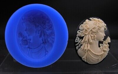 Victorian Lady Cameo Silicone Mould