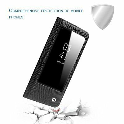 Auto Dormancy Wake Up Phone Case Smart View Flip Cover Shell For Samsung XB