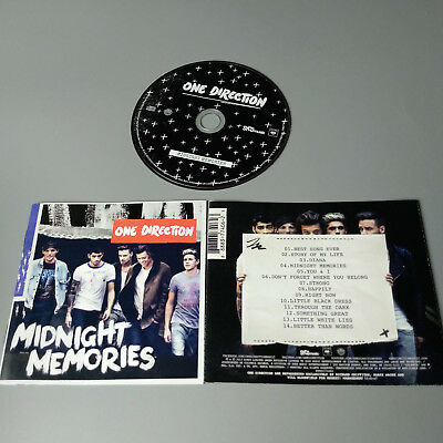 One Direction - Midnight Memories 2013 USA CD VG #1035