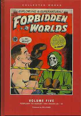 Forbidden Worlds - Volume 5 - Classic 1954 Golden Age Horror Comic
