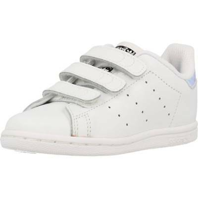 12b0bc608be3f BASKET POUR FILLE ADIDAS ORIGINALS STAN SMITH CF I