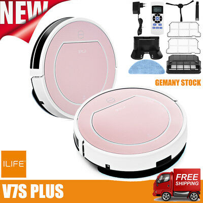 ILIFE V7s Plus Smart Staubsauger Saugroboter Vacuum Cleaner Cleaning Robot 400PA