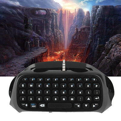 Wireless Bluetooth Keyboard Accessory Adapter for Sony PS4 Controller XB