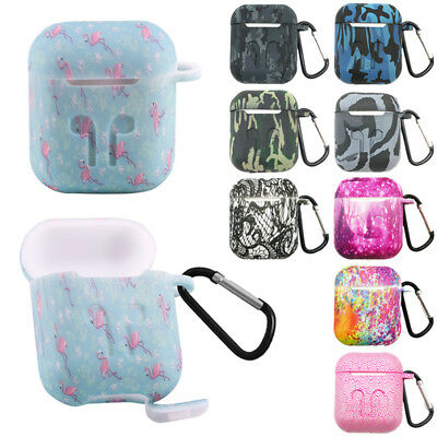 Camouflage For Airpods Case Protect Tie-dye Silicone Cover Skin AirPod Earphone