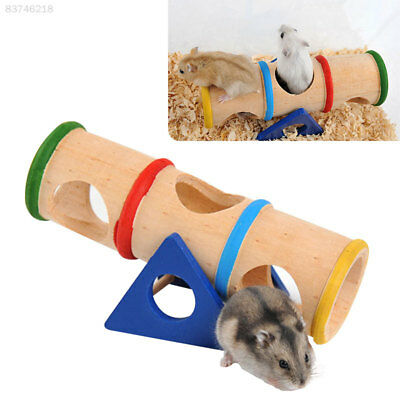 1C24 Hamster Seesaw Tunnel Tube Durable Pet Toys Playground Mice Activity Rat