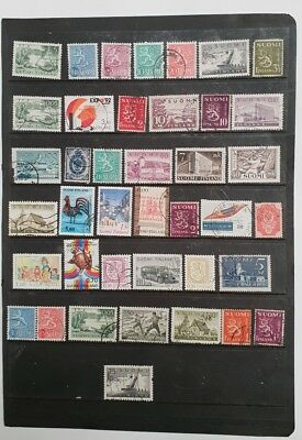 stamps  Finland  - Used - Lot 651