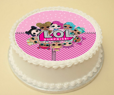 Lol Surprise Dolls Edible Cupcake Toppers Decorations X 15