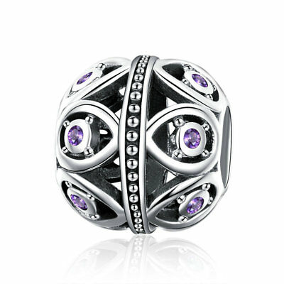 Unique 925 Sterling Silver Elegance Charm Bead Jewelry For Women Girls Present