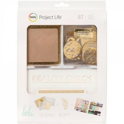 Becky Higgins Project Life Value Kit Kraft and Foil (87 Teile)