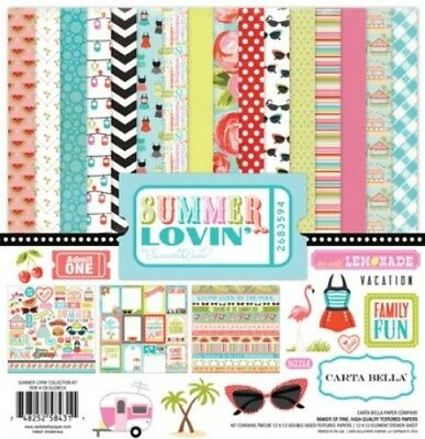 "Carta Bella - Summer Lovin Collection Kit 12"" x 12"""